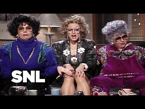 Coffee Talk: Liz Rosenberg and Barbra Streisand - SNL