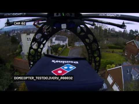 Introducing the Domino's DomiCopter!