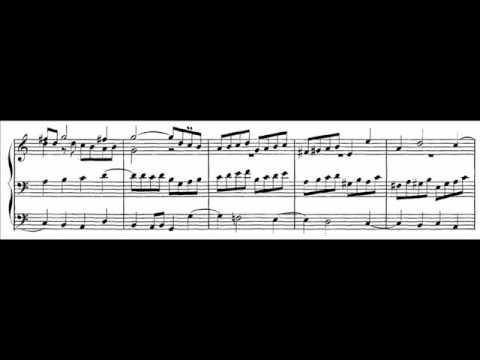J.S. Bach - BWV 545 - Fuga C-dur / C Major