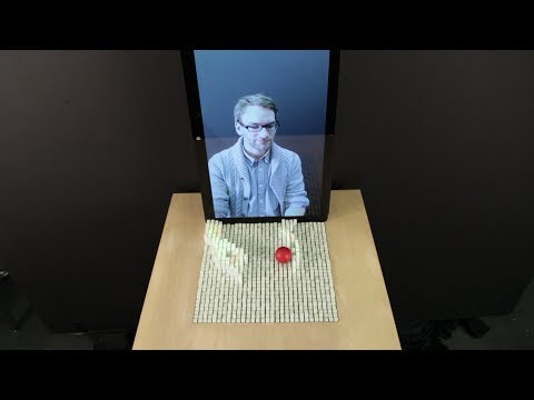 inFORM - Interacting With a Dynamic Shape Display