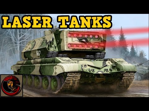 What Laser Tanks did the Soviets try to produce?