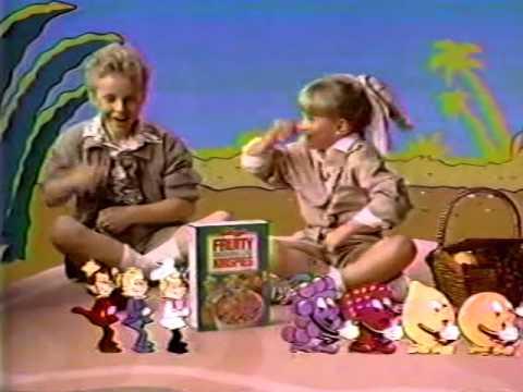 80's Ads: Kellogg's Fruity Marshmallow Krispies 1987