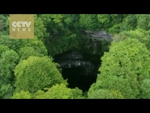 49 giant sinkholes discovered in NW China's Shaanxi Province