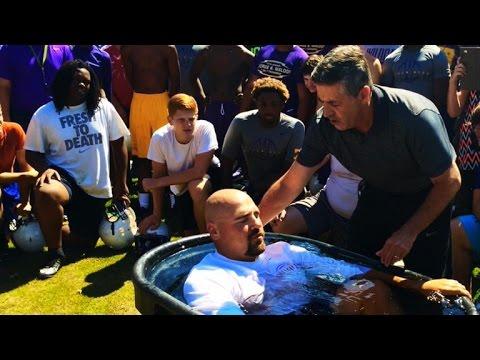 Georgia public high school under fire for mass baptism