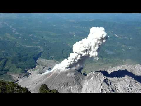 "Climbing Vulcano ""Santa Maria"" near Xela"
