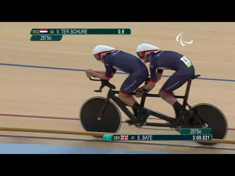 Cycling track | Men's B 4000m Individual Pursuit Final | Rio 2016 Paralympic Games