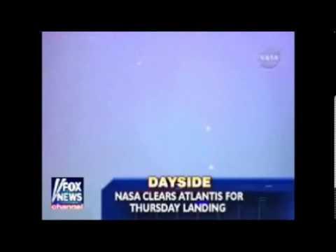 Nasa admits strange lights!