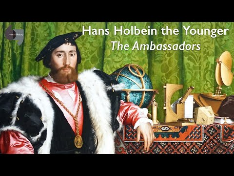 Hans Holbein the Younger, The Ambassadors (updated!)