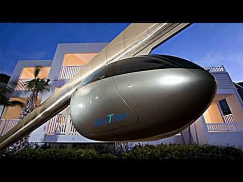 NASA: SkyTran the future levitating transit. The first public experiment will be built in Tel Aviv
