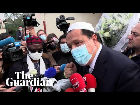 French imam calls for Muslims to 'cry with families' mourning beheaded teacher
