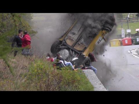 Rally Valle d'Aosta 2014 - Big crash