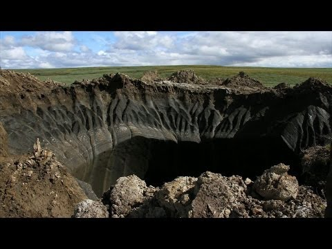 Behind the mysterious holes in Siberia