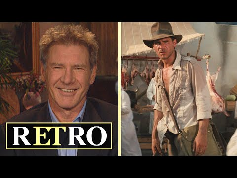 Harrison Ford and Steven Spielberg Reveal True Story Behind THIS Indiana Jones Moment