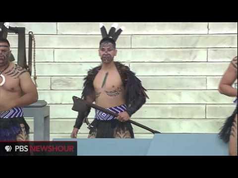 Traditional Maori Haka Performance for March on Washington 50th Anniversary