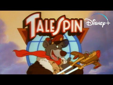TaleSpin - Theme Song | Disney+ Throwbacks | Disney+
