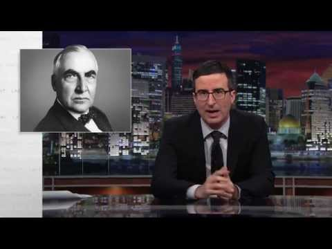 Warren G. Harding's Love Letters: Last Week Tonight with John Oliver (HBO)