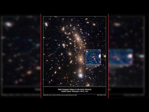 NASA found 'Tayna' the faintest galaxy ever