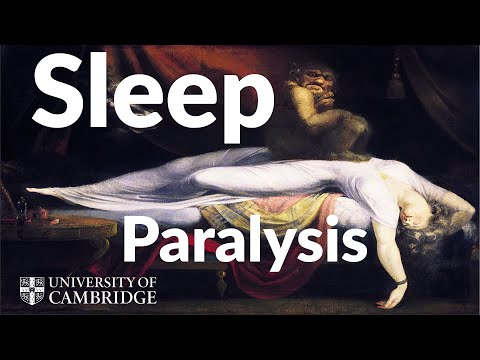 Ghosts, genies and the science of sleep paralysis