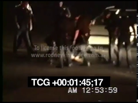 Rodney King Beating Full Video | 8 minutes SCREENER.