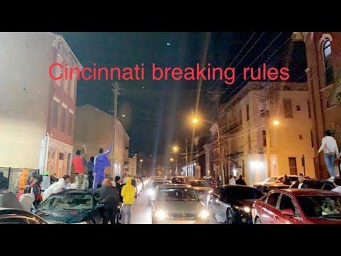 Cincinnati Ohio break coronavirus rules