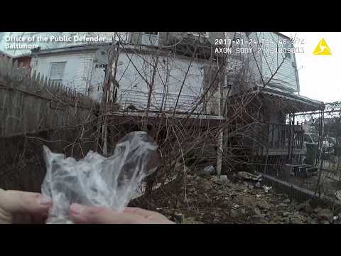 Public defender says video shows Baltimore officer planting drugs