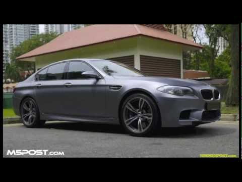 2012 BMW M5 Active Sound Disabled (Before and After)