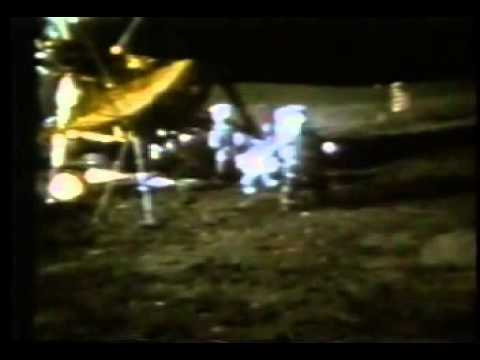 Alan Shepard Hits A Golf Ball on the Moon