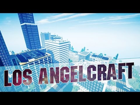 "Minecraft - ""LOS ANGELCRAFT"" - Epic Minecraft City Inspired by Los Angeles - Map w/ Download - 2015"