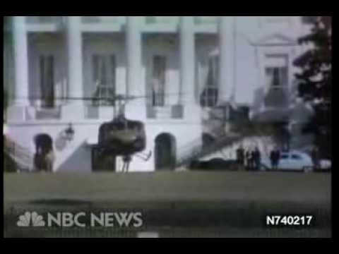 The White House Helicopter Incident - www.NBCUniversalArchives.com