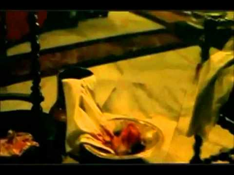 """Jean Baptiste Lully stabs himself in his foot and dies - from the movie """"Le Roi Danse"""""""