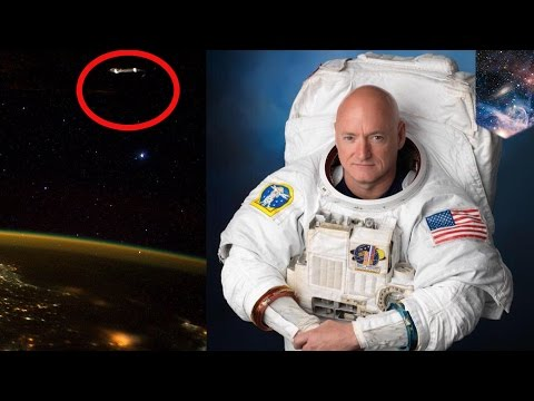 'UFO' photo tweeted by NASA astronaut spending year aboard International Space Station - TomoNews