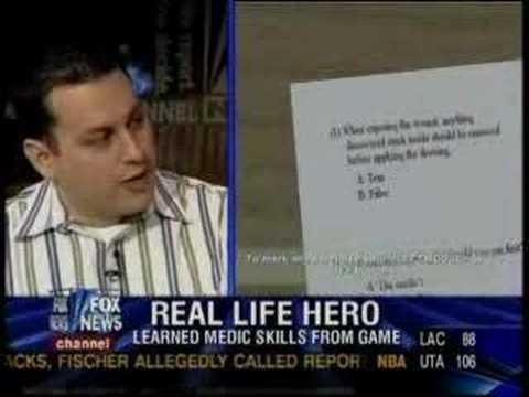 Video Game Saves Lives- America's Army Gamer Paxton Galvanek