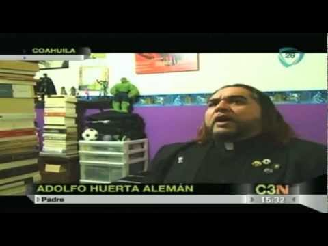 Sacerdote Rockero causa polémica en Saltillo
