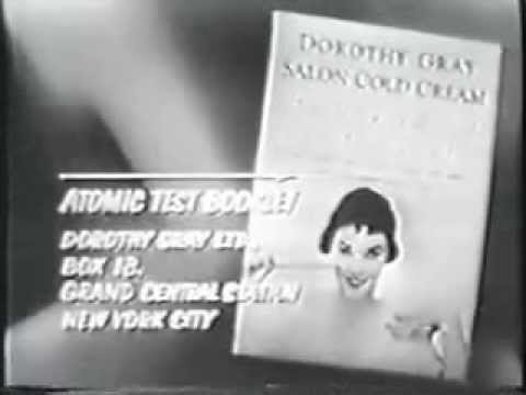 Radiation is Good For Your Skin Shocking 50's Commercial