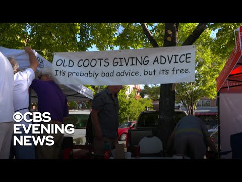 """""""Old Coots"""" dole out wisdom at Salt Lake City farmer's market"""