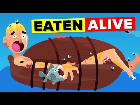 Eaten Alive (Scaphism) - Worst Punishments In History of Mankind