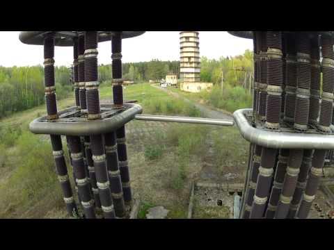 Съемка с воздуха: Катушка Тесла