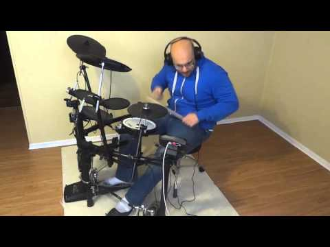 Jamming Out On My TD11K Electronic Drum Set
