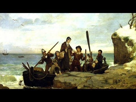 Why the Pilgrims stopped at Plymouth Rock