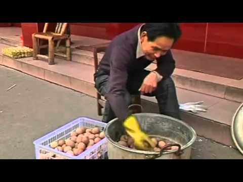URINE Soaked EGGS Insures Healthy Life Treats in China