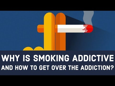 Why is Smoking addictive and How to quit smoking?
