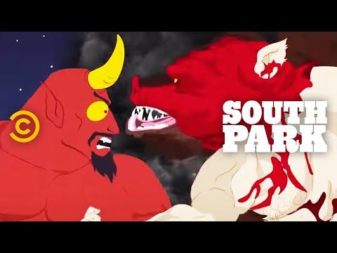 ManBearPig vs. Satan - South Park