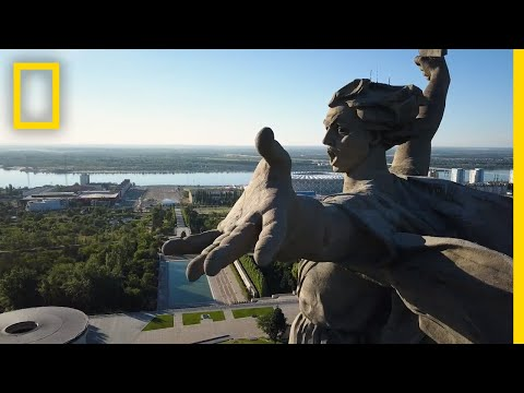 The Story Behind Europe's Tallest Statue: The Motherland Calls | National Geographic