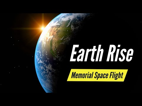 The Earth Rise Memorial Space Flight Service from Celestis