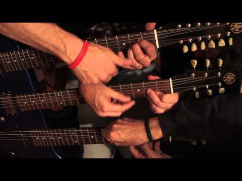 "The ""Rock Ock"" 8 Neck Guitar Performance of ""Crossroads"""