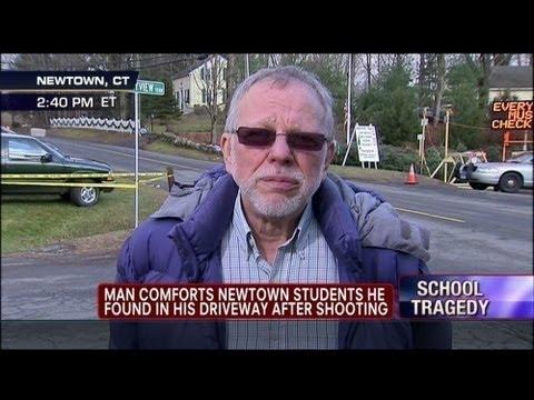 Sandy Hook Truthers Harass Samaritan Hero