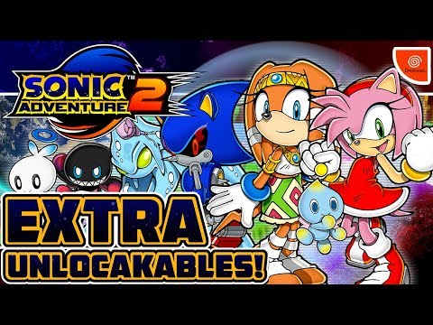 Sonic Adventure 2 - EXTRA! - Part 10: Green Hill Zone, Chao Gardens & Other Unlockables!
