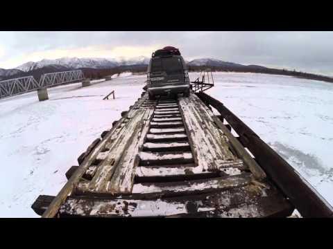 Мост через Витим. 500 метров адреналина. Dangerous roads #БАМ