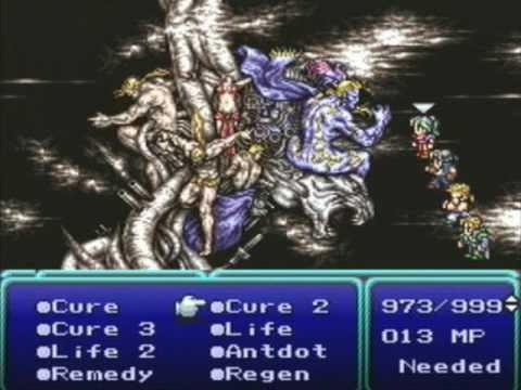 Final Fantasy VI (PlayStation) - Final Battle & Ending