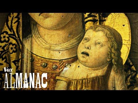 Why babies in medieval paintings look like ugly old men